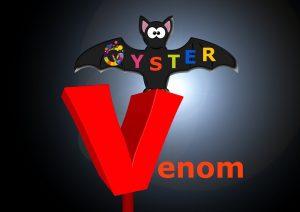 Oyster Venom halloween menu