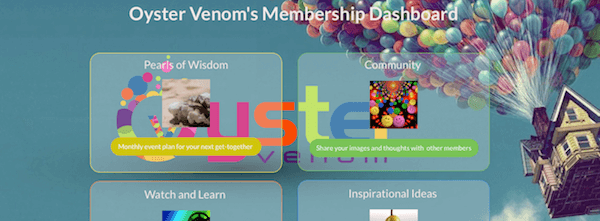 Oyster Venom's Membership Dashboard